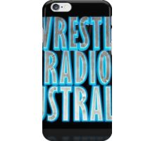 Wrestle Radio Australia iPhone Case/Skin