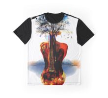 MUSIC IN SOUL Graphic T-Shirt
