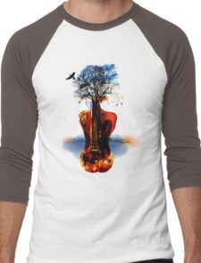MUSIC IN SOUL Men's Baseball ¾ T-Shirt