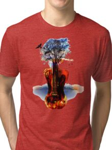 MUSIC IN SOUL Tri-blend T-Shirt
