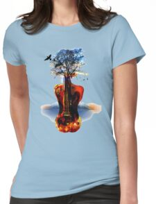 MUSIC IN SOUL Womens Fitted T-Shirt