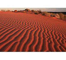 Sands of the Simpson Desert Photographic Print