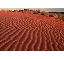 Sands of the Simpson Desert Photographic Print