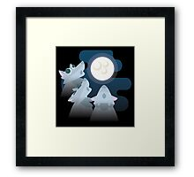 Three Wolf Moon Moon Framed Print