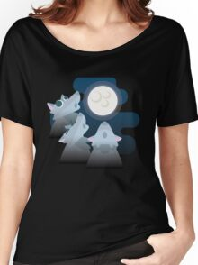 Three Wolf Moon Moon Women's Relaxed Fit T-Shirt