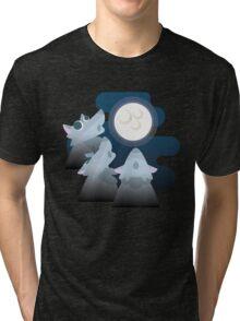 Three Wolf Moon Moon Tri-blend T-Shirt