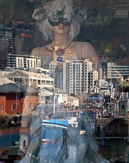 Mysterious city girl by awefaul