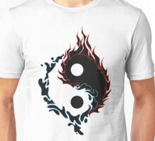 yinyang fire and water Unisex T-Shirt
