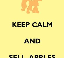 Keep Calm Apple Jack by Sailor-Selene