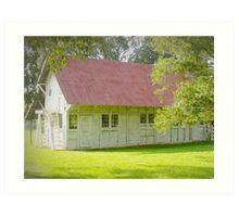Plantation Barn Art Print