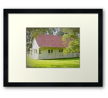 Plantation Barn Framed Print