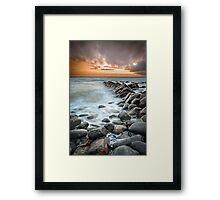 ∞ Kimmeridge II ∞ Framed Print