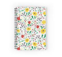 Spring Time Spiral Notebook