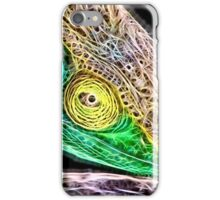 Wild nature - chameleon iPhone Case/Skin