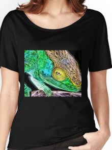 Wild nature - chameleon Women's Relaxed Fit T-Shirt