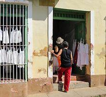 Shop in Trinidad. by Anne Scantlebury