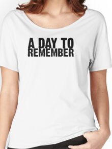 A Day To Remember - Black Women's Relaxed Fit T-Shirt