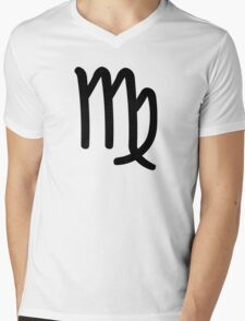 Virgo - The Virgin - Astrology Sign Mens V-Neck T-Shirt