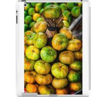 Citrus stack iPad Case/Skin