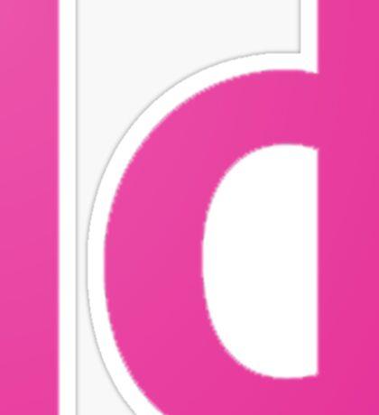 Adobe In Design Sticker