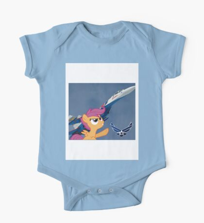 Scootalo Airforce One Piece - Short Sleeve