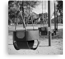 Swing Baskets Canvas Print