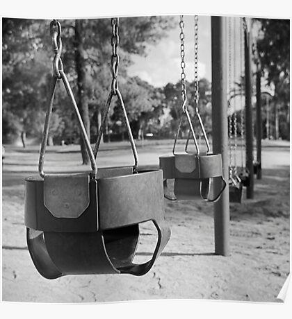 Swing Baskets Poster