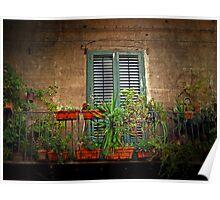 The Balcony Garden Poster