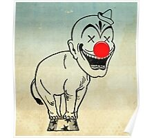 elephant clown 02 Poster