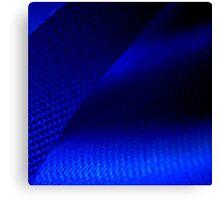 Blue ribbon Canvas Print