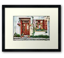 House dream Framed Print