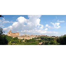 Siena Panorama, IT  Photographic Print
