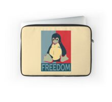 Tux Freedom for Linux Users Laptop Sleeve