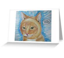 bagel Greeting Card