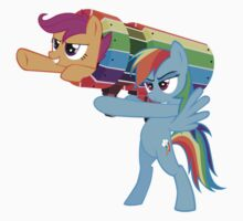 Rainbow Cannon by eeveemastermind