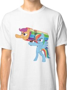 Rainbow Cannon Classic T-Shirt
