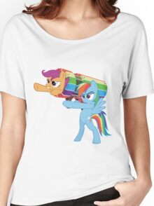 Rainbow Cannon Women's Relaxed Fit T-Shirt