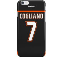 Anaheim Ducks Andrew Cogliano Jersey Back Phone Case iPhone Case/Skin