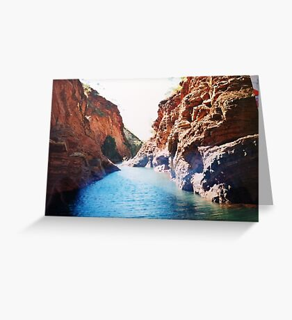 National park Western Australia Greeting Card