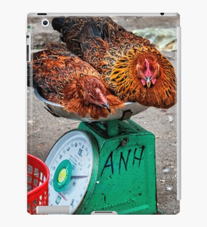 Chicken scales iPad Case/Skin