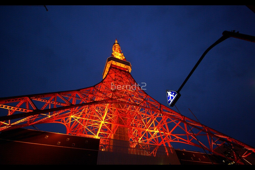 Tokyo Tower by berndt2