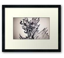 alduin Framed Print