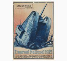 Souscrivez! et nous aurons la victoire Emprunt National 1918 Kids Tee