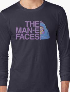 The Man-e-Faces Long Sleeve T-Shirt