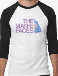 The Man-e-Faces Men's Baseball ¾ T-Shirt
