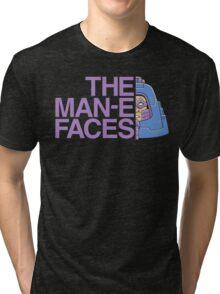 The Man-e-Faces Tri-blend T-Shirt