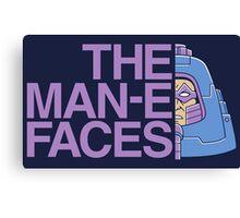The Man-e-Faces Canvas Print