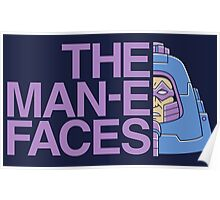 The Man-e-Faces Poster