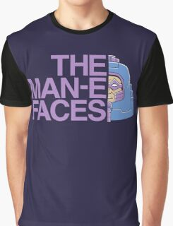 The Man-e-Faces Graphic T-Shirt