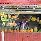 Fruit stall. by Anne Scantlebury